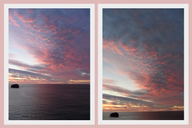Photo of the Portreath sunset 2nd August 2011